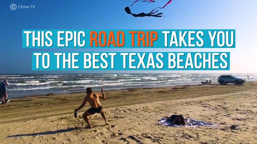 10 Best Beaches In Texas (With Photos & Map) - Tripstodiscover - Texas Gulf Coast Beaches Map