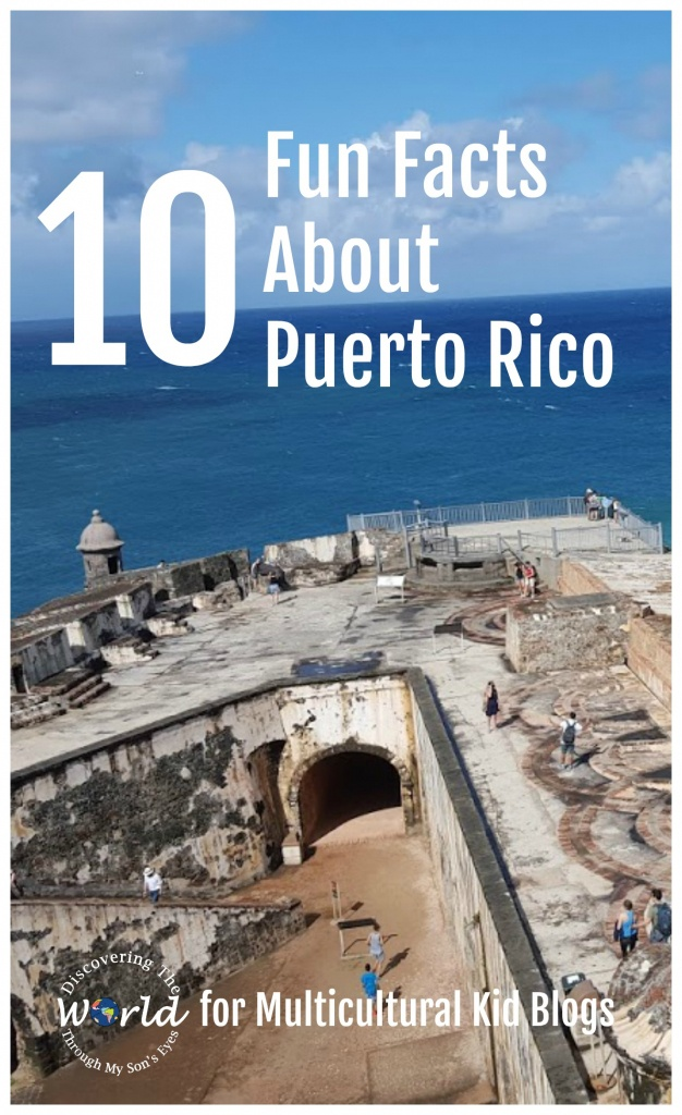 Printable Map Of Puerto Rico For Kids