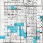 11000 Acres In Gaines County, Texas   Gaines County Texas Section Map