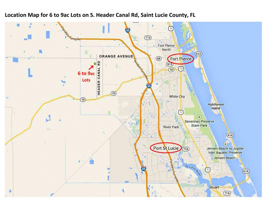 1101 S Header Canal Rd, Fort Pierce, Fl 34945 - Lot/land - Mls #rx - Where Is Ft Pierce Florida On A Map