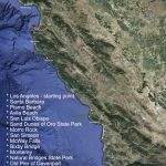 12 Ultimate Stops On Highway No. 1   California Scenic Highway Map