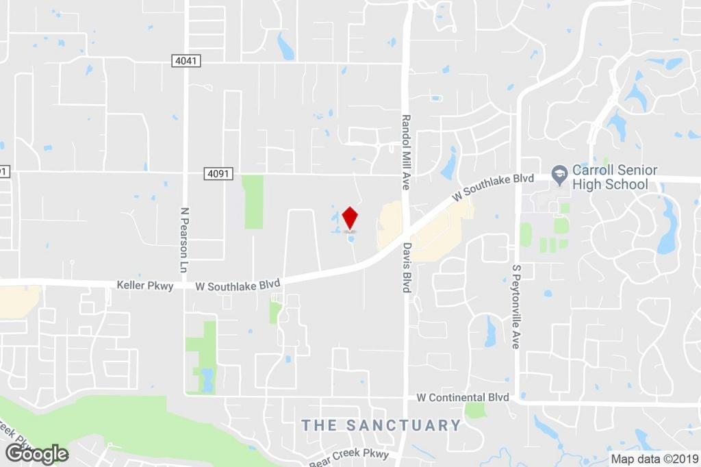 121 River Oaks Dr, Southlake, Tx, 76092 - Property For Lease On - Southlake Texas Map