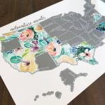 15+ Travel Scratch Maps That Are Creative Ways To Chronicle Your Trips   Texas Scratch Off Map
