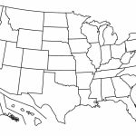 17 Blank Maps Of The United States And Other Countries   Blank Us Political Map Printable