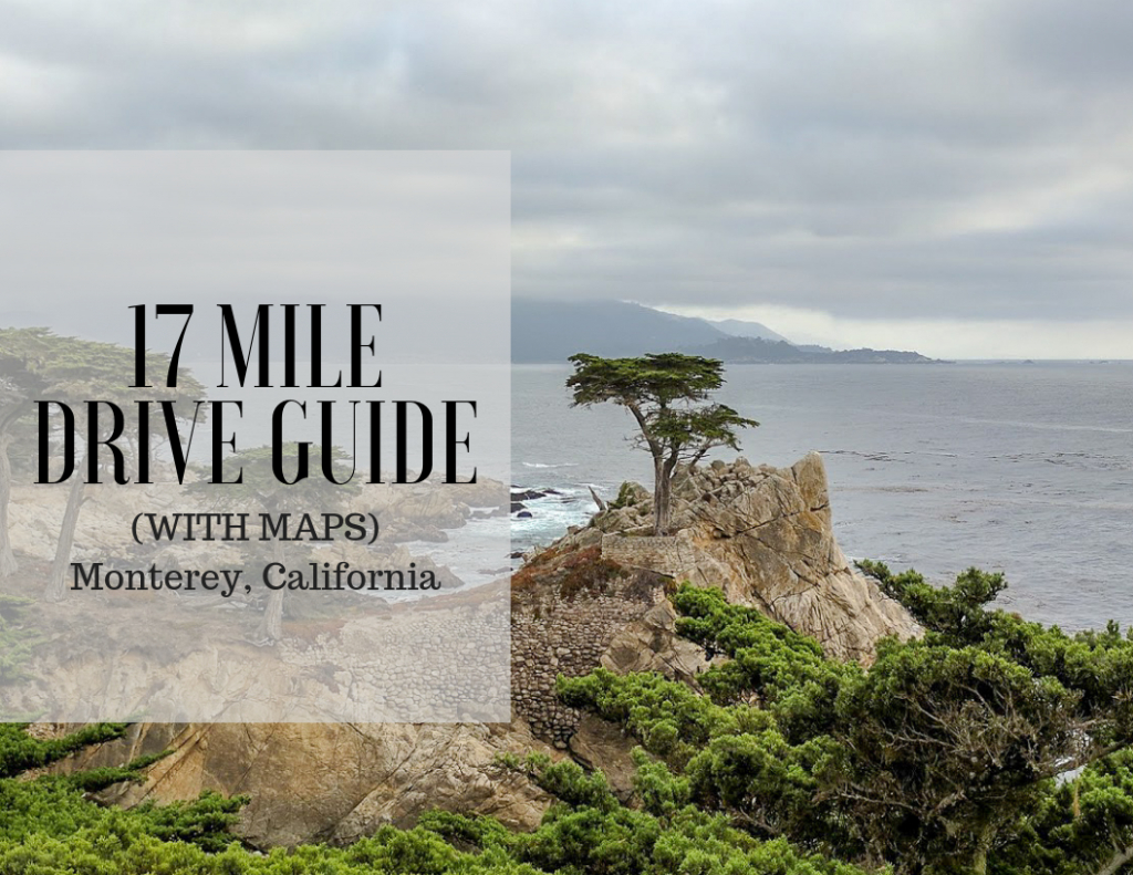 17 Mile Drive Monterey In Pictures (With Maps) – Bright Lights Of - 17 Mile Drive California Map