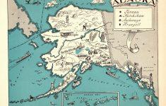 Alaska State Map Printable