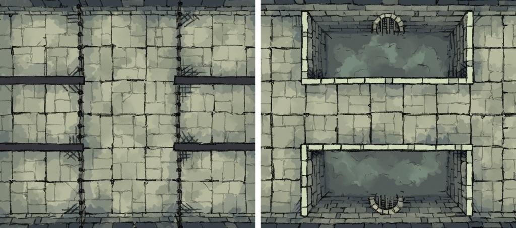 "2-Minute ""print & Play"" Maps! - Arts & Crafts - D&d Beyond General - Printable D&d Map Tiles"