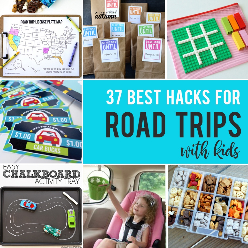 20 Best Ideas, Activities, And Resources For Road Trips With Kids - Printable Travel Maps For Kids