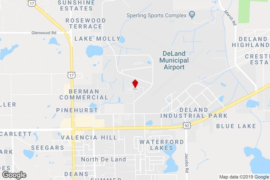 2000 Brunswick Ln, Deland, Fl, 32724 - Manufacturing Property For - Deland Florida Map