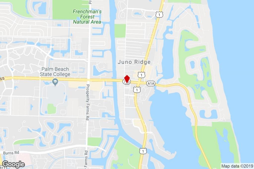 2000 Pga Blvd, North Palm Beach, Fl, 33408 - Property For Lease On - Juno Beach Florida Map