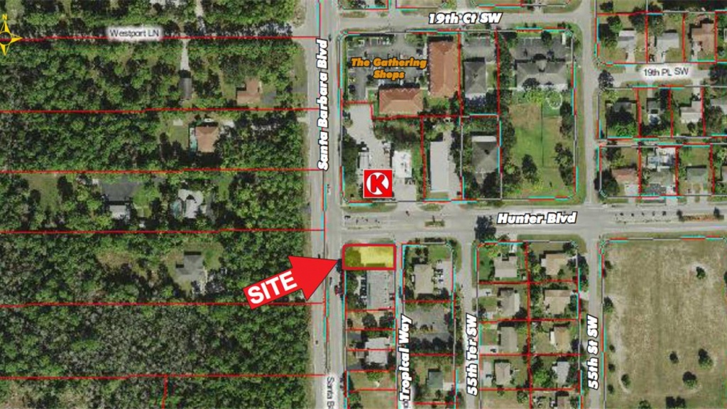 2000 Santa Barbara Boulevard, Naples, Fl 34116 - Land For Sale - Golden Gate Estates Naples Florida Map