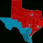 2012 United States House Of Representatives Elections In Texas   Texas House Of Representatives District Map