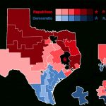 2016 United States House Of Representatives Elections In Texas   Texas House Of Representatives District Map