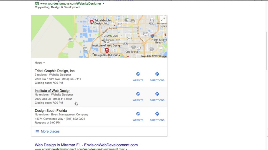 2017 Local Seo Success, Google Maps - Miami, Florida - Youtube - Google Maps Miami Florida