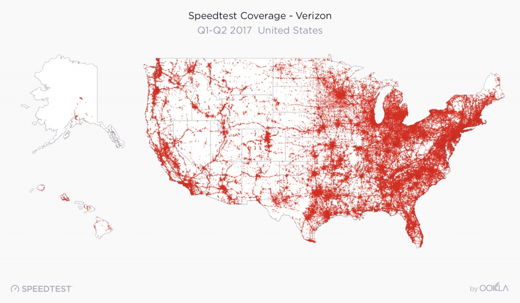 2017 United States Speedtest Market Report - Verizon Wireless Coverage Map Texas