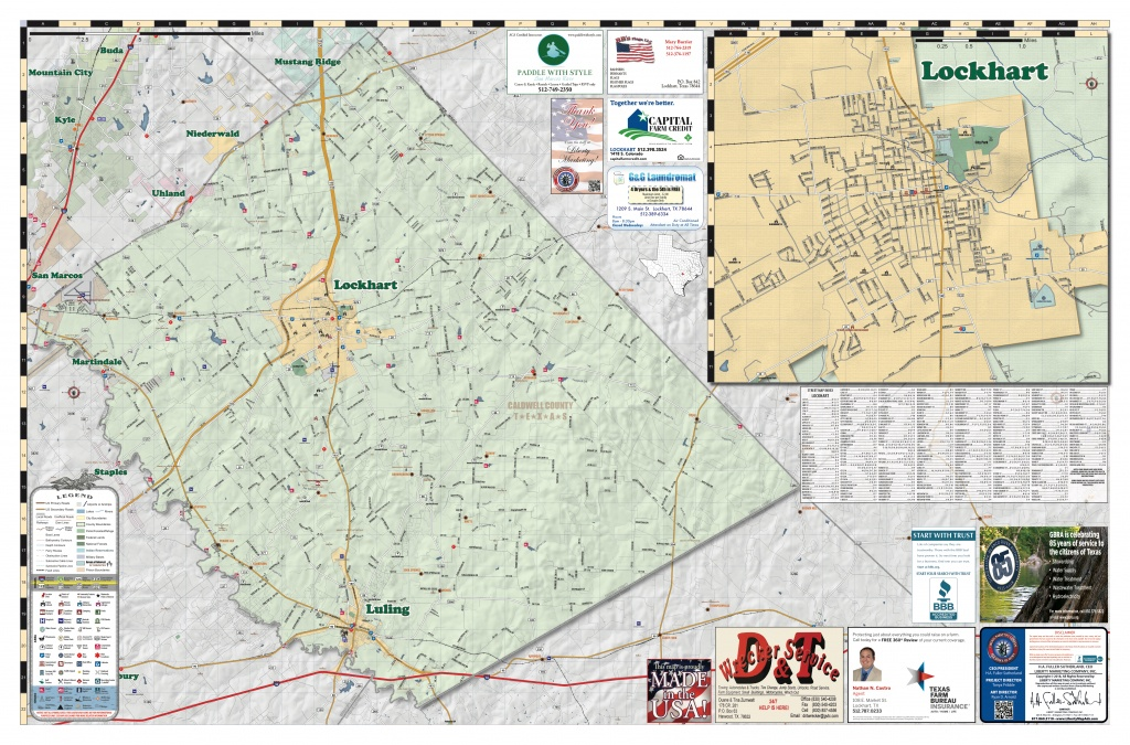 2018 Edition Map Of Luling, Tx Pages 1 - 2 - Text Version | Anyflip - Luling Texas Map