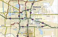 2019-2020 State Map – Road Map Of Texas And Oklahoma