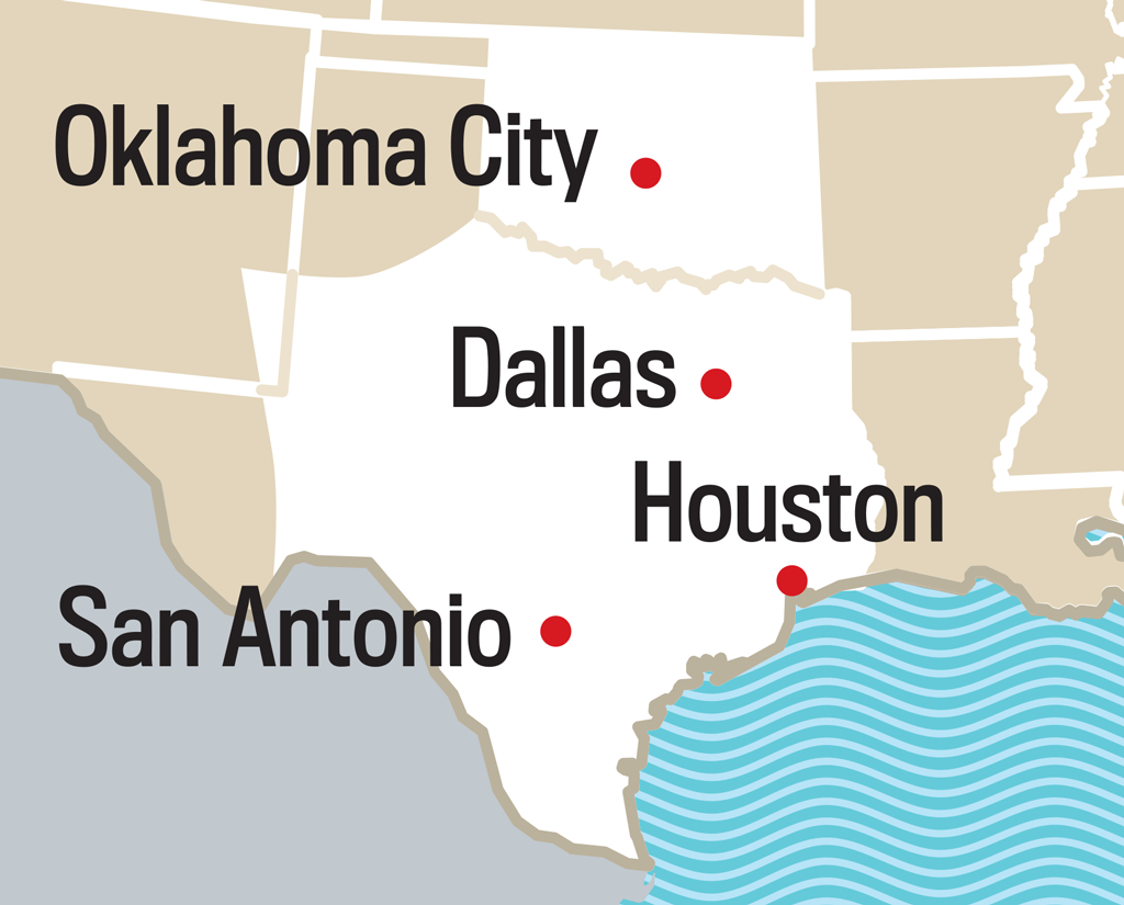 2019 Long Range Weather Forecast For Waco, Tx | Old Farmer's Almanac - Waco Texas Weather Map