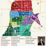 2019 Update: Houston Neighborhoods | Houston Map, Real Estate, Homes   Downtown Houston Map Printable