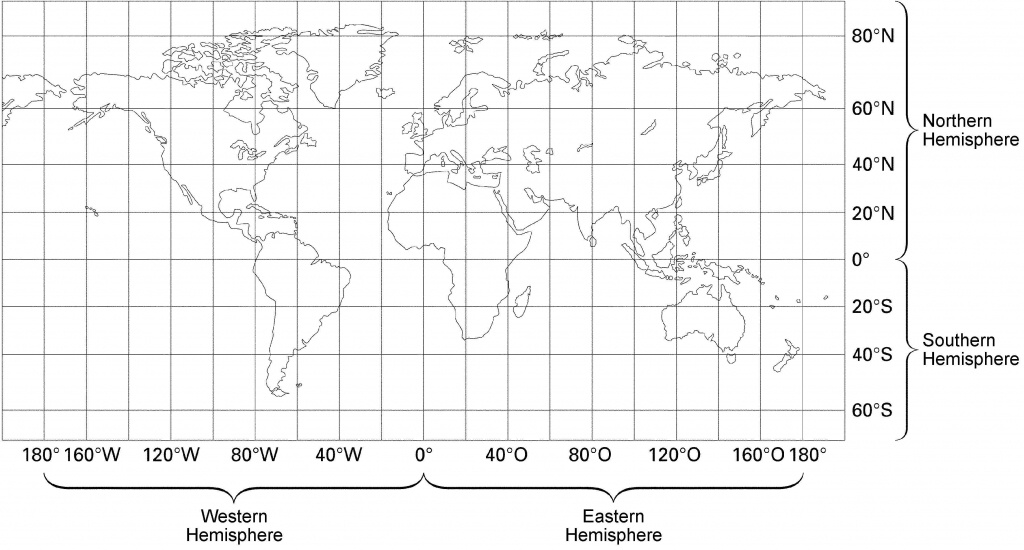 23 World Map With Latitude And Longitude Lines Pictures - World Map With Latitude And Longitude Lines Printable