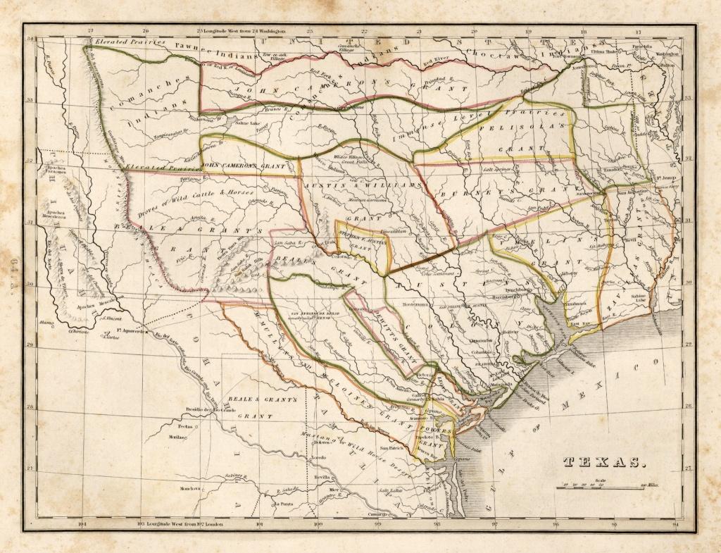 25 Awesome Maps That Help Explain Texas - Houston Chronicle - Republic Of Texas Map Overlay