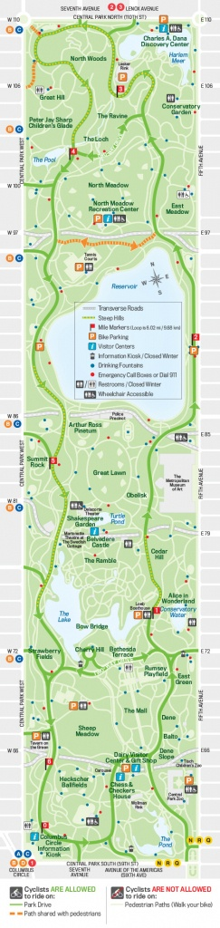 27 Things To Do In Central Park | Free Toursfoot - Printable Map Of Central Park