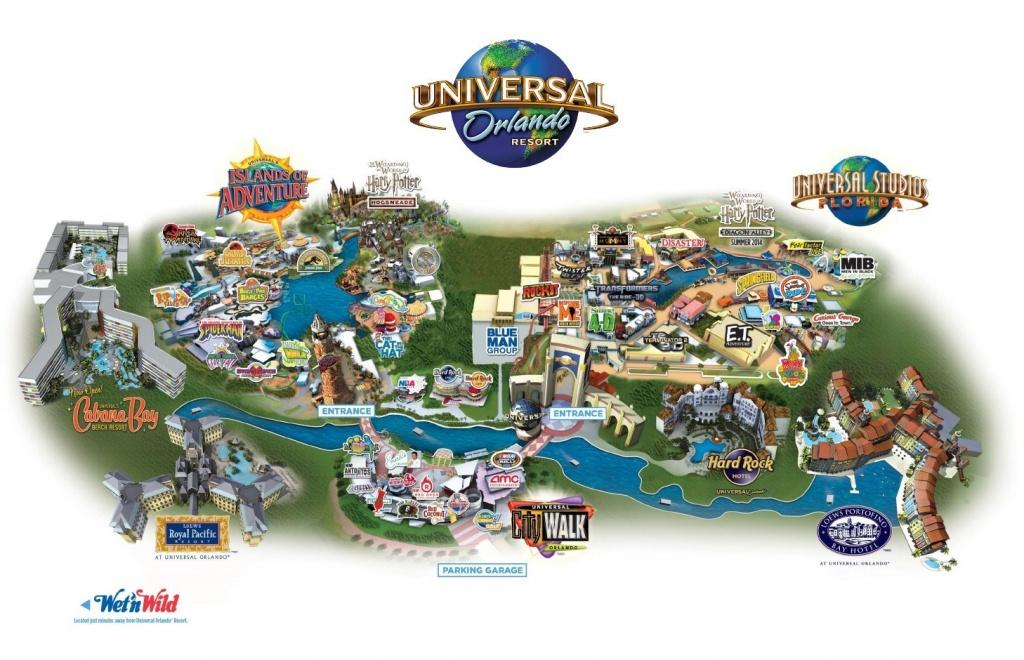 3 Essentials To Understanding Universal Orlando - Map Of Universal Florida Hotels