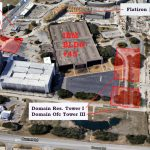 3 New Towers Headed For The Domain – Towers   Map Of The Domain In Austin Texas