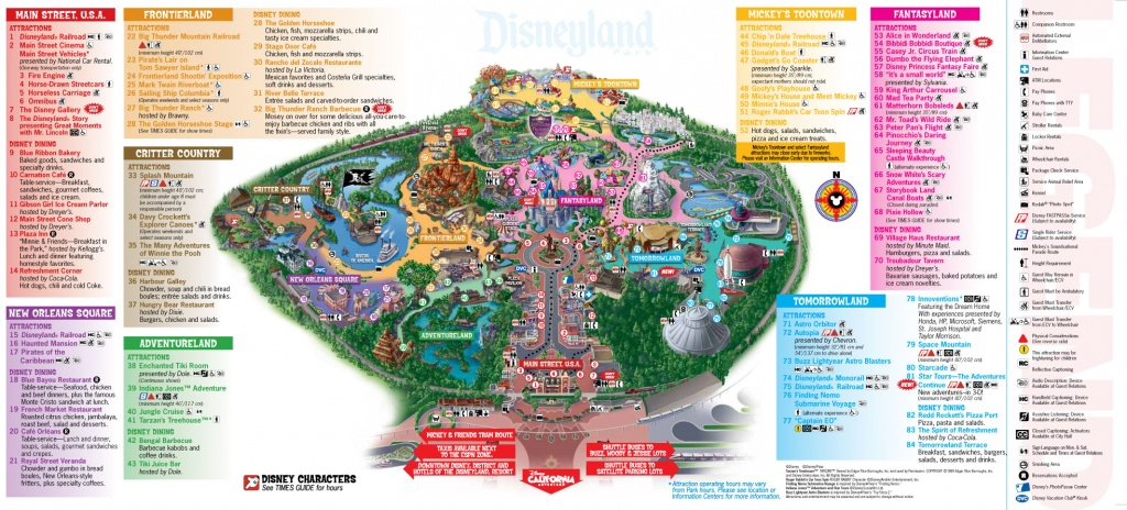 31 Model Disneyland Florida Map – Bnhspine - Printable Disneyland Map 2015