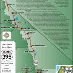 395 Map   Scenic 395   California Scenic Highway Map