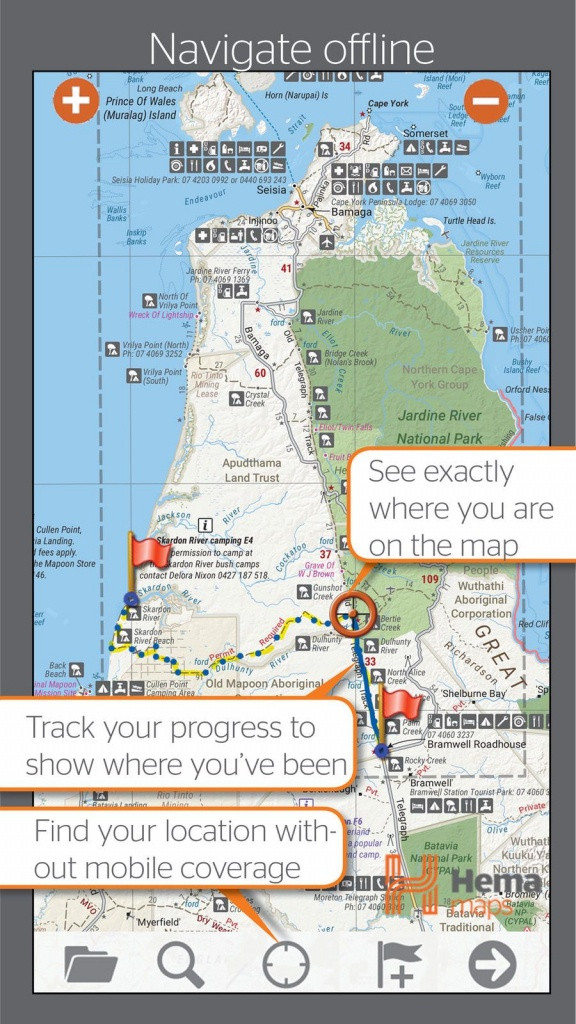 4Wd Maps Hema Australia Offline Topo Maps #navigation#topo#ios - Free Printable Topo Maps