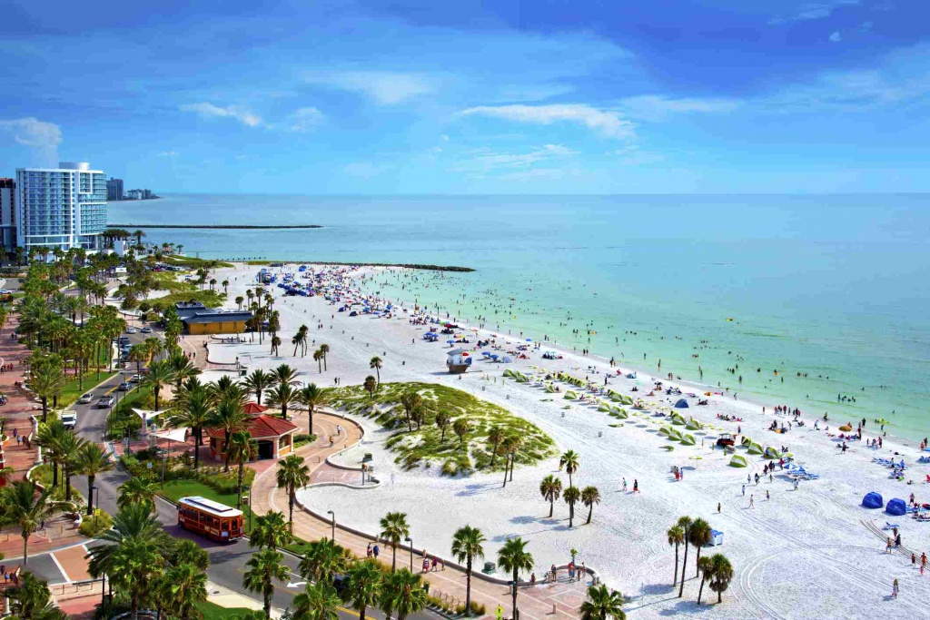 5 Best Beaches Near Orlando - Map Of Florida Beaches Near Orlando