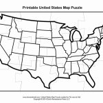 5 Best Images Of Printable Map Of United States   Free Printable   United States Map Puzzle Printable