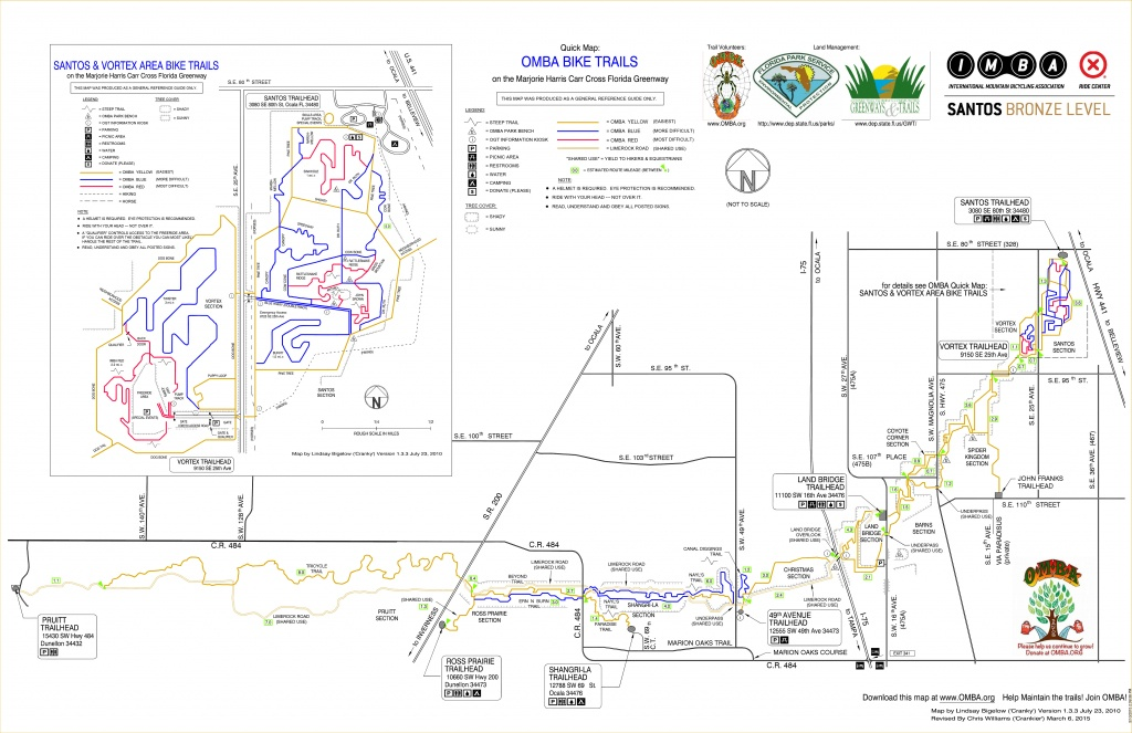 5 Great Singletrack Options For Florida Mountain Bikers - Florida Mountain Bike Trails Map
