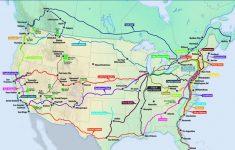 California Zephyr Route Map