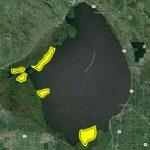 5 Key Areas On Okeechobee   Flw Fishing: Articles   Fishing Map Of Lake Okeechobee Florida