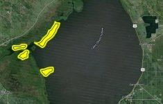 Fishing Map Of Lake Okeechobee Florida