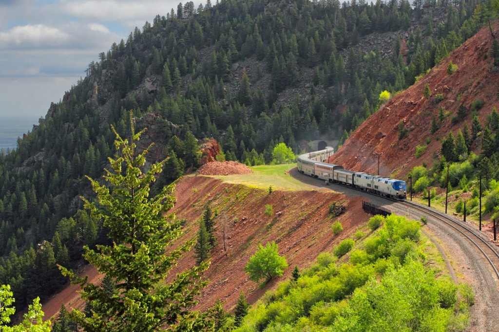 5 Most Scenic Amtrak Train Routes For Unparalleled Views Of The Usa - Amtrak California Zephyr Route Map