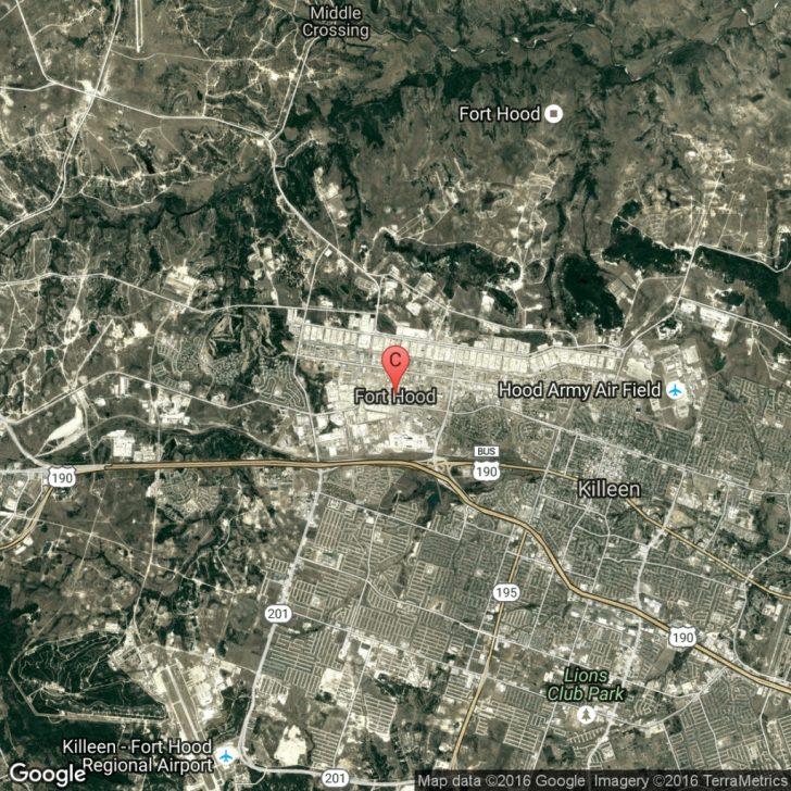 Google Maps Fort Hood Texas