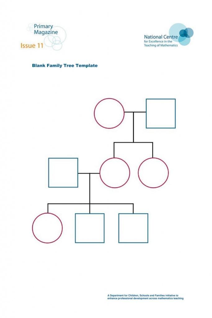 50+ Free Family Tree Templates (Word, Excel, Pdf) ᐅ Template Lab - Printable Tree Map