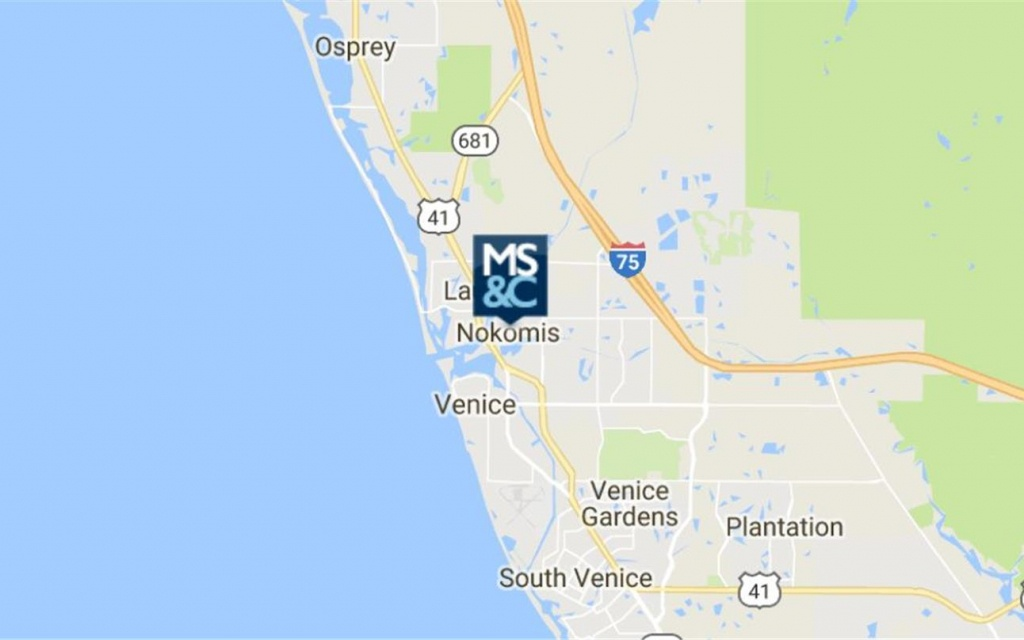 508 E Colonia Lane, Nokomis, Fl 34275 - Industrial Property For Sale - Nokomis Florida Map
