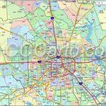 600 Dpi Harris County Zip Codes | Houston Zip Code Map | Harris   Houston Zip Code Map Printable