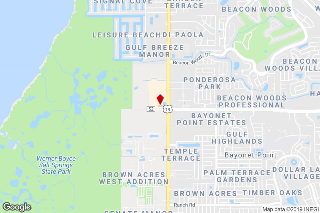 6901 State Road 52, Hudson, Fl, 34667 - Bank Property For Sale On - Hudson Florida Map
