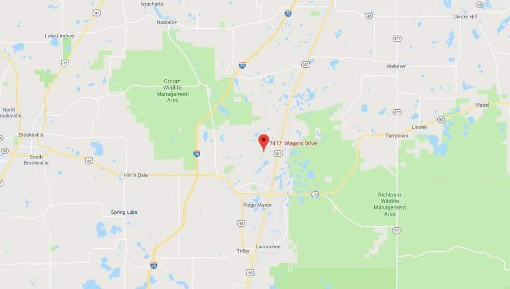 7417 Wagers Dr Webster, Florida | Terrenos Na Florida - Webster Florida Map