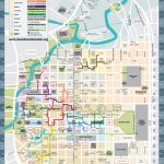 A Detailed Map Of The Underground Tunnel System Beneath Downtown   Downtown Houston Map Printable