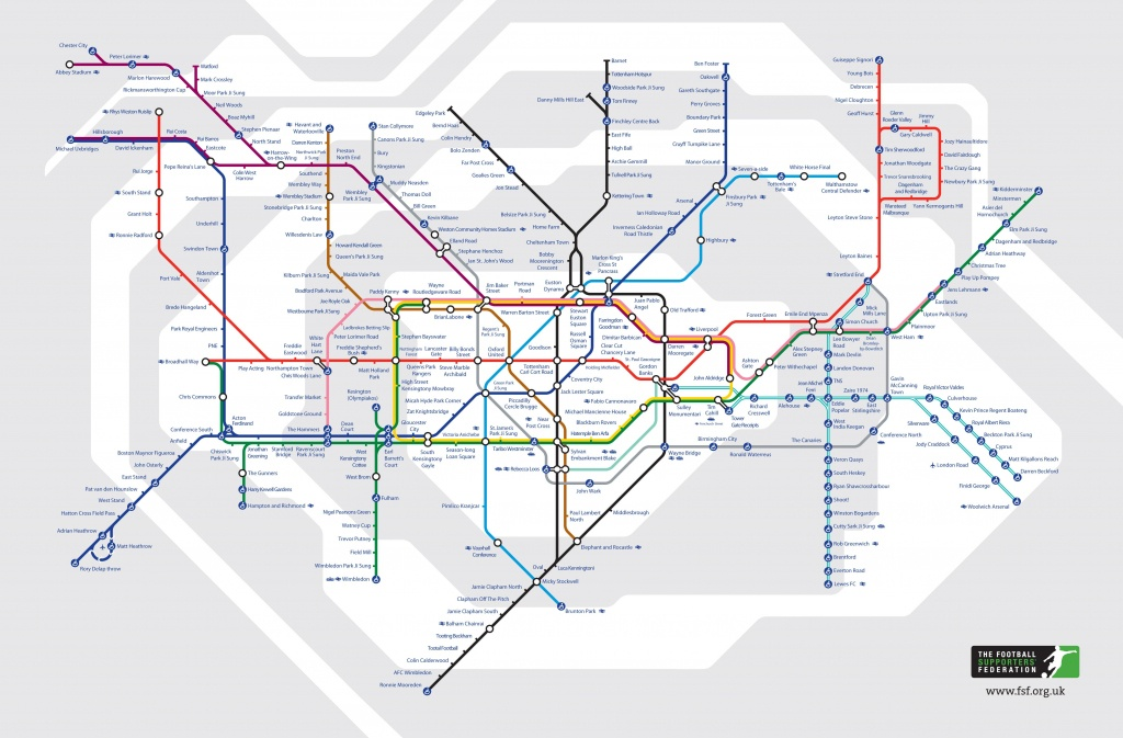 A Guide To Alternative London Tube Maps | Londonist - Printable London Tube Map Pdf