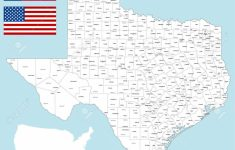 Large Texas Map