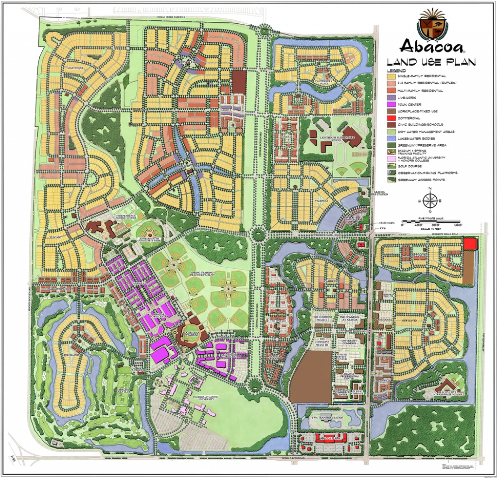 Abacoa — Gentile Glas Holloway O'mahoney & Associates - Abacoa Florida Map