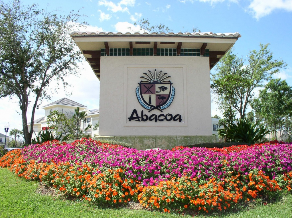 Abacoa - My Florida Realty Jupiter - Abacoa Florida Map