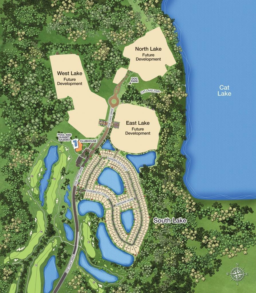 Active Adult Site Map - Harmony, Fl - Harmony Florida Map
